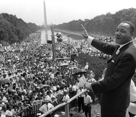 """Martin Luther King em Washington, 1963: """"Eu Tenho um Sonho"""""""