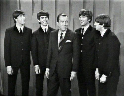 Os Beatles no show de Ed Sullivan