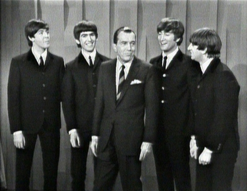 Os Beatles no show de Ed Sullivan