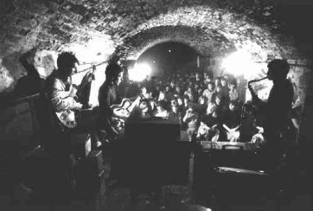 O Cavern Club de Liverpool no começo da década de 1960