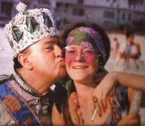 Janis e o Rei Momo no Rio de Janeiro