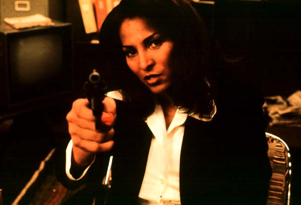 """Jackie Brown"": Pam Grier"