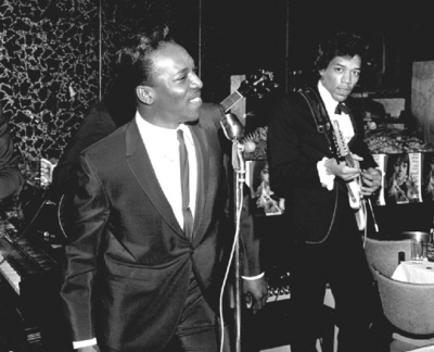 Wilson Pickett e Jimi Hendrix