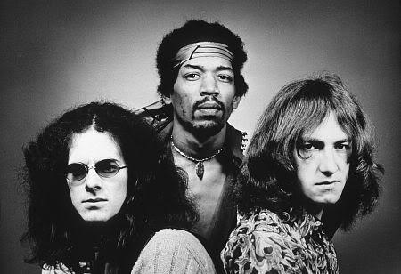 Noel Redding, Hendrix e Mitch Mitchell