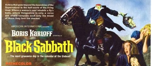 """""""I tre volte della paura"""", ou simplesmente Black Sabbath"""