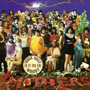 """Capa de álbum de Frank Zappa e Mothers satirizando """"Sgt. Pepper's"""" dos Beatles"""