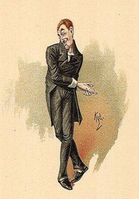 Uriah Heep, o personagem do livro, numa gravura