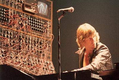 Keith Emerson e seus sintetizadores
