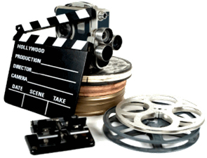 Filmadora-rolo-de-filmes-e-claquete_01