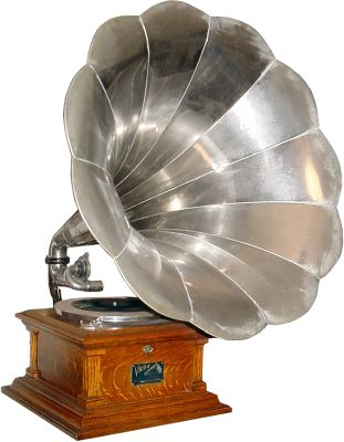 Gramofone (Fonte: Wikipedia)