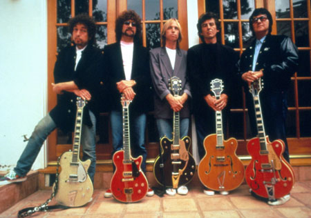Bob, Jeff, Tom, George e Roy: The Traveling Wilburys