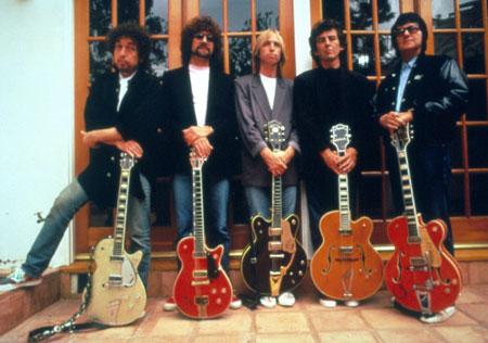 Bob, Jeff, Tom, George e Roy: The Traveling Wilburys