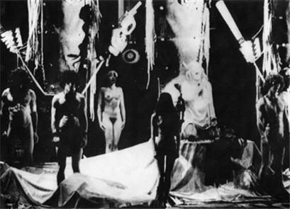 Montagem brasileira da década de 60 e a nudez polêmica