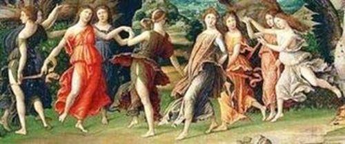 As 9 Musas da mitologia grega