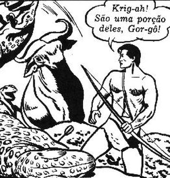 Tarzab nos quadrinhos