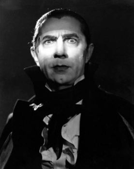 "Bela Lugosi no filme ""Drácula"" de 1931"