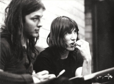 David Gilmour e Roger Waters