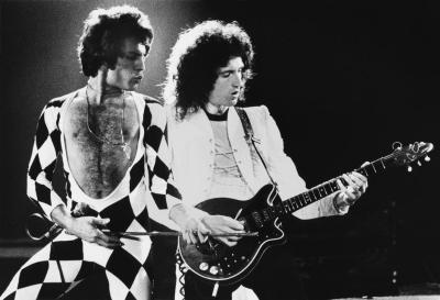 Freddie Mercury e Brian May