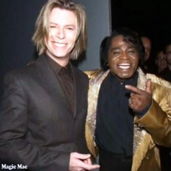 David Bowie e James Brown