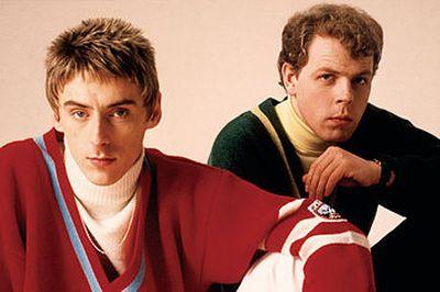 Paul Weller e Mick Talbot