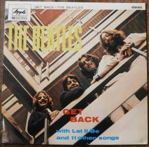 """A capa de """"Get Back"""""""