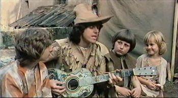 "Donovan em cena de ""A Lenda da Flauta Mágica"""