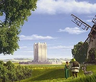 Shrek, Fiona e o castelo de Farquaad