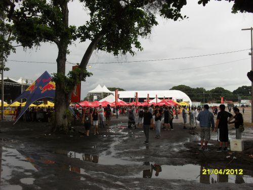 Panorâmica local de shows