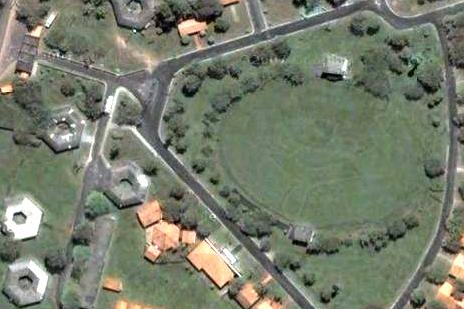 Vista aérea do Parque Independência (sr. piloto volte para Goiânia!!!)