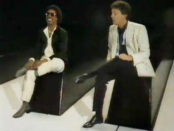 Stevie Wonder e Paul.