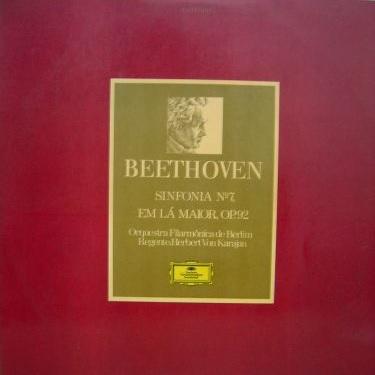 "O LP da ""Sinfonia nº7"" de Beethoven"