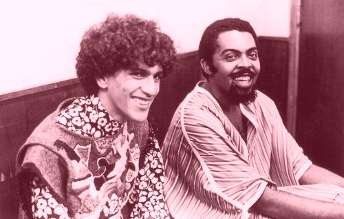 Caetano e Gil, em 1968, antes do AI-5