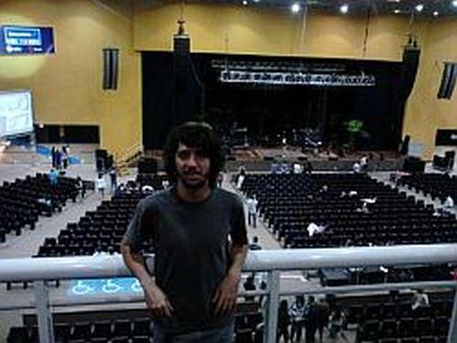Pedro, antes do show