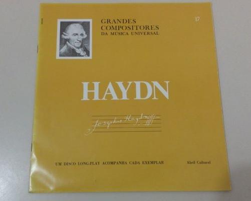 O volume dedicado a Haydn