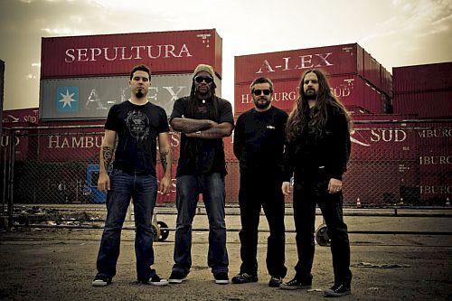 """Sepultura em 2009, ano de lançamento do álbum """"A-Lex"""""""