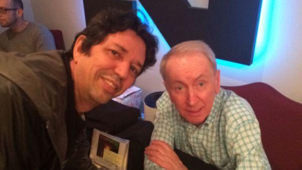 Eu e Al durante a sessão de autógrafos.