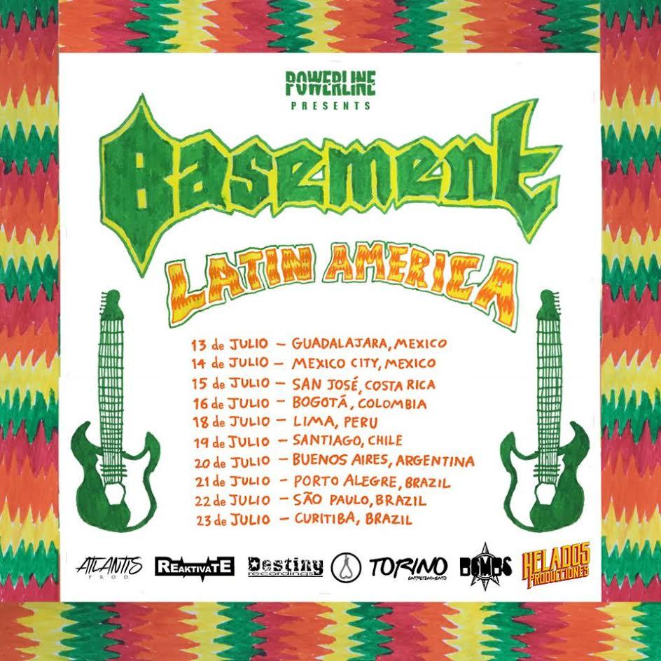 basement colourmeinkindness vinyl. Britnicos Do Basement Chegam Ao Brasil Para 3 Shows Em Julho Colourmeinkindness Vinyl
