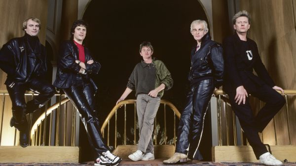 Photo of Chris SQUIRE and Alan WHITE and YES and Trevor RABIN and Tony KAYE and Jon ANDERSON